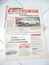 Autokrant Skoda Polonez FSO Englebert 1979 brochure catalogue commercial sales