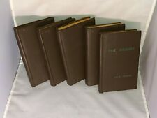 Vintage Set: 5 Leather Bound Lord of the Rings - Hobbit, Trilogy, Tolkien Reader