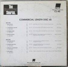 THE PRODUCTION SOURCE Commercial Length Disc 45 LP Music Library CL-45