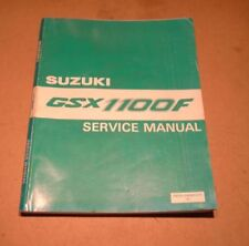 Manuales de motor 1100 Suzuki