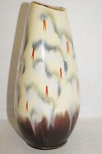 Kunstkeramik Vase 50/60er Design Höhe ca.21,0 cm 553-20