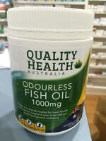 FISH OIL 1000MG 400 capsules odourless omega-3 100% AUSTRALIAN MADE 1000 mg