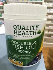 FISH OIL 1000MG 400 capsules odourless omega-3 100% AUSTRALIAN MADE >>HOT DEAL!!
