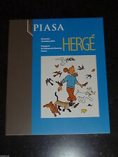 Hergé - Catalogue vente Piasa 10 octobre 2010