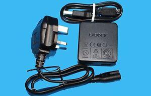 GENUINE ORIGINAL SONY AC-UB10C AC ADAPTOR + MICRO USB CABLE - UK STOCK
