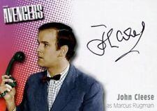 Avengers TV Definitive 2 John Cleese as Marcus Rugman Autograph Card A5