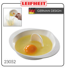 Leifheit Egg Yolk White Separator Tool Easy Cooking Sieve Plastic Kitchen Gadget