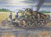 German 38(H) Artillery Observation Vehicle 1:35 Plastic Model Kit TRUMPETER