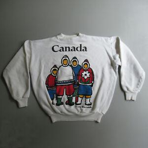 Marc Tetro Canada Sweatshirt Shirt L XL