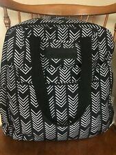 Sarah Wells 'Kelly' Breast Pump Bag Convertible Backpack + Pumparoo Black/White
