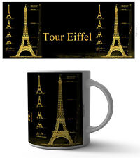 EIFFEL TOWER DESIGN 11 OZ COFFEE MUG TEA CUP ART DECOR FRANCE VINTAGE PARIS LOVE