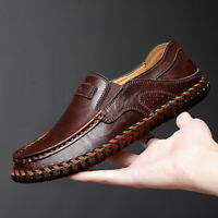 Mens Driving Moccasins Casual Slip On Loafers Shoes Fashion Walk Big Size 39-48