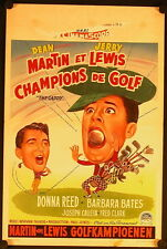 The Caddy (1953) Belgian MARTIN AND LEWIS