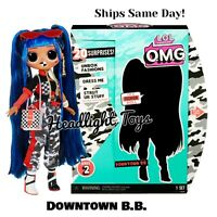 """1 Authentic LOL Surprise 10"""" Downtown B.B. OMG Fashion Doll Series 2 In Hand"""