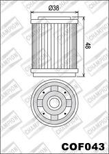 COF043 Filtro De Aceite CHAMPION MBK125 XC K Llama R1251997 1998 1999