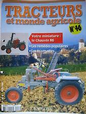 FASCICULE 46 TRACTEURS ET MONDE AGRICOLE CHAUVIN R6 JCB FASTRAC 8250