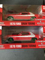 Ford Gran Torino Starsky & Hutch very rare Green Machine Bundle Greenlight 1:24