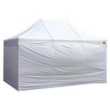King Canopy  Festival 10 Feet X 15 Feet - 4 Pc. Sidewall Kit 15 Feet / White NEW