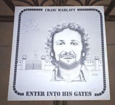 Craig Marlatt, Enter Into His Gates, Central Sound Studios, CSS-284, SIGNED