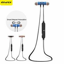 Awei A921BL Magnet Earphone Sport Wireless Bluetooth Headset Stereo Bass Earbuds