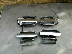 Alfa Romeo 166 Turismo (01 - 04) Set of exterior door handles