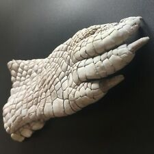 Undyed Crocodile Paw Craft Supply bare Natural