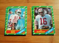 1986 Topps San Francisco 49ers TEAM SET Jerry Rice ROOKIE