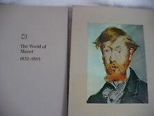 JS- TIME LIFE LIBRARY OF ART THE  WORLD OF MANET 1832-1883 IN SLIP COVER