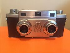 Revere Stereo 33 Camera With Original Leather Case