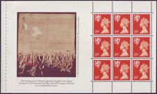 1989 GB Scotland Machin Regionals Pane - SG S62L - From Prestige Booklet - UM