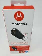 Motorola Boom 2+ Water Resistant & Durable Wireless Headset - Open Box