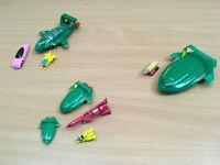 THUNDERBIRDS VEHICLES BUNDLE LOT DIE-CAST TB1 TB2 TB4 FAB 1