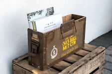 Military Vintage Wooden Ammunition Box: PRICE IS FOR ONE