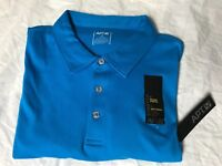 Apt 9 Mens XL Polo Bright Blue Natural Stretch Soft Touch New with Tags !
