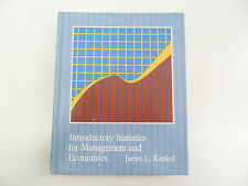 INTRODUCTORY STATISTICS FOR MANAGEMENT AND ECONOMICS KENKEL 1981 TEXTBOOK