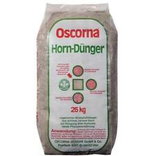 Oscorna Hornmehl 25 kg Bio Öko Naturdünger organischer Gartendünger Stickstoff