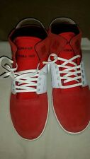 NEW SUPRA SKYTOP iii RED-WHITE SPECKLE MENS SNEAKER SIZE 9