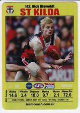2008 Teamcoach Gold Card -  Nick Riewoldt #142