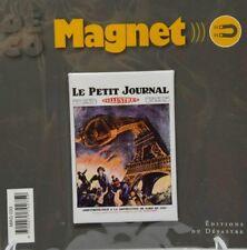L'ILLUSTRE Petit Journal facsimilé Une de journal Tour Eiffel magnet 8x5.2 cm