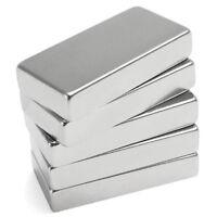 N52 50X25X10MM Stark Quader Magnet Seltene Erden Rechteck Neodym Block UK Gut