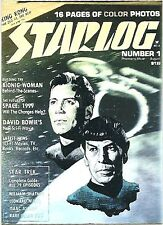 STAR TREK The Original Series : STARLOG magazine HOLOGRAM PROMO Insert card.