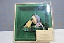 "1983 Hallmark QX4007 ""Frosty Friends - 4th  White Seal "" Ornament"