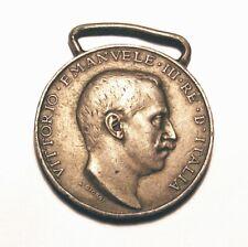 Italian- Turkish War Silver Military Medal .1911-1912.