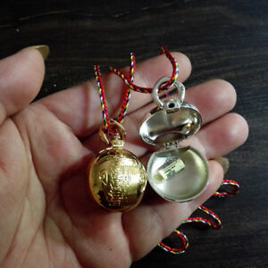 Stainless Steel Oblate Pill Box Storage Bottle Container Case Necklace Pendant
