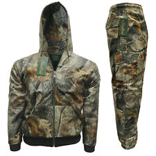 Children's Forest Camouflage Jacket Trouser Set Realtree Camo Shower Proof Suit