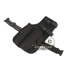 Emerson Right Hand Drop Leg Thigh Rig Holster w/ Spare Magazine Pouch for MP7