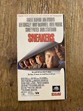 Sneakers (VHS, 1993) River Phoenix, Robert Redford, Free shipping!