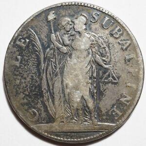 NAPOLEONIDES-ITALIE : 5 FRANCS ARGENT GAULE SUBALPINE AN 10 (1802)