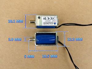 Small Monitor  Solenoid Valve DC 3V Air Exhaust Valve N/O Sphygmomanometer