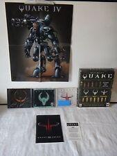 Ultimate Quake PC (2001) Quake I,II,III~Open Box~FACTORY SEALED GAMES~w/poster++